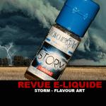 REVUE : STORM (GAMME E-MOTION) PAR FLAVOUR ART
