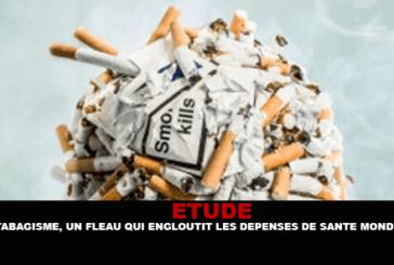 ÉTUDE : Le tabagisme, un fléau qui engloutit les dépenses de santé mondiales.