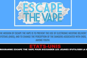 美国:逃避Vape计划,阻止年轻人使用电子烟
