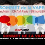 SOMMET DE LA VAPE : Les candidats à la présidentielle invités par Sovape.