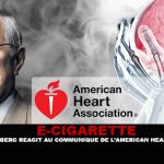 E-CIGARETTE : Le Pr Bertrand Dautzenberg réagit au communiqué de l'American Heart Association.
