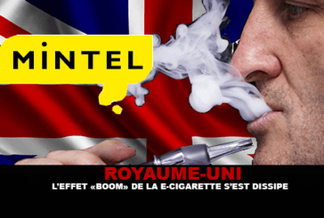 "UNITED KINGDOM: The ""Boom"" effect of the electronic cigarette has dissipated."
