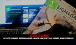 CULTUUR: De Italiaanse site van vape Sigmagazine lanceert een tweemaandelijkse papieren editie.