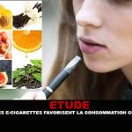 ÉTUDE : Les arômes des e-cigarettes favorisent la consommation chez les jeunes.