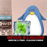 REVUE : MENTHE X-TREM (GAMME MENTHES) PAR FLAVOUR POWER