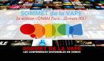 TOP VAN DE VAPE: De conferenties van de tweede editie beschikbaar in video's.