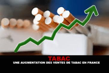 TABAC : Une augmentation des ventes de cigarettes en France.