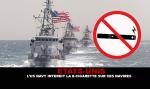 ארצות הברית: חיל הים האמריקני אוסר על סירותיו סיגריות אלקטרוניות