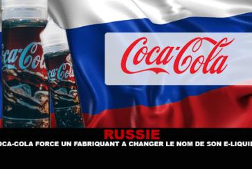 רוסיה: קוקה קולה כוחות היצרן לשנות את השם של נוזל אלקטרוני שלה.