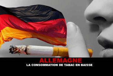 גרמניה: צריכת הטבק למטה.