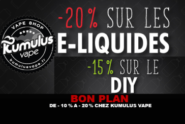 GOOD PLAN: From -10% to -20% at Kumulus Vape.