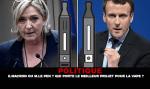 פוליטיקה: ה. מקרון או מ. לה פן? מי נושא את הפרויקט הטוב ביותר עבור vape?