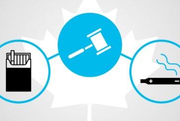 CANADA : Fumeurs, vapoteurs, rappel sur l'impact de la loi anti-tabac.