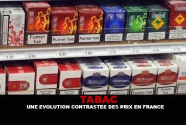TABAC : Une évolution contrastée des prix en France.