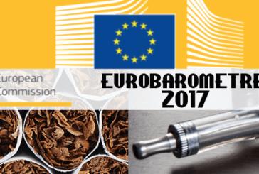 E-CIGARETTE : La commission européenne publie son Eurobaromètre 2017.