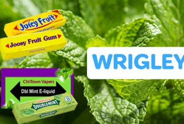 A DESTRA: Wrigley attacca il marchio e-liquid per violazione della proprietà intellettuale