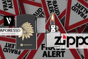 חוק: Zippo התקפות Vaporesso בעקבות הפרת זכויות קניין רוחני.