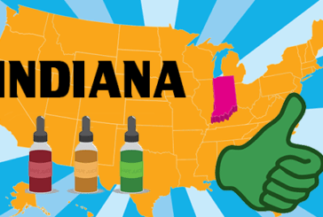 USA: In the state of Indiana, the vape finds colors!