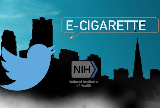 ETATS-UNIS : 200 000 dollars pour analyser les tweets sur la e-cigarette.