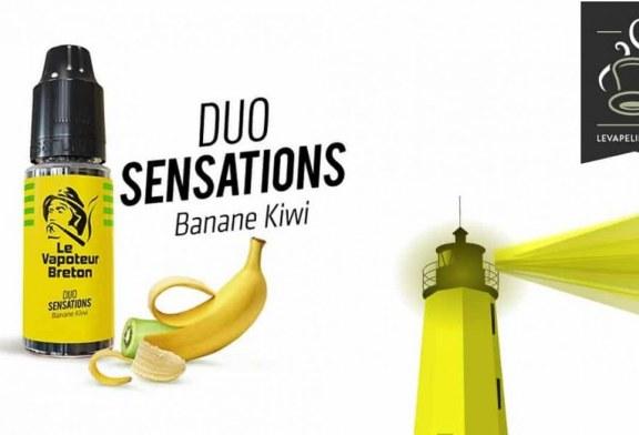 REVUE : Banane Kiwi ( Gamme Duo Sensations ) par Le Vapoteur Breton