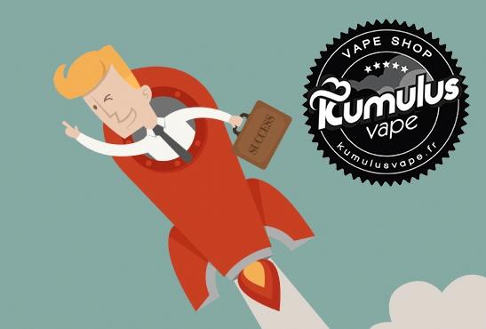 ECONOMIE : Kumulus Vape lève des fonds et se lance dans la conception d'e-liquide.