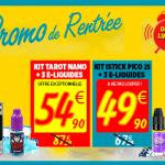 BON PLAN : Pour la rentrée, deux kits e-cigarette à un tarif imbattable !