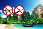 TAILANDIA: Non fumare e svapare sulle spiagge!