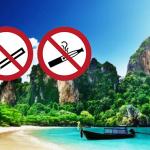 THAILANDE : Interdiction de fumer et vapoter sur les plages !