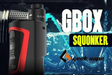 INFO BATCH : GBOX Squonk (Geek Vape)
