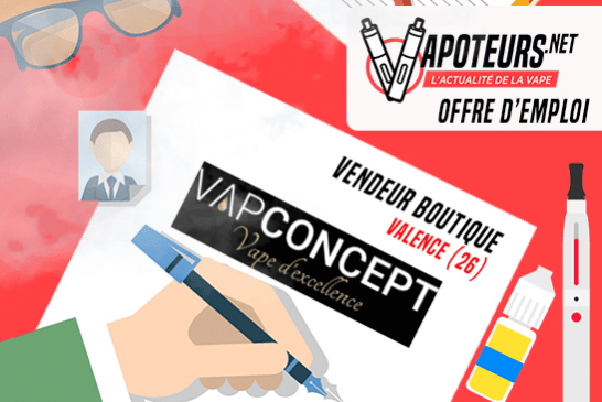 JOB OFFER: Shop Vendor - Vapconcept - Valencia (26)