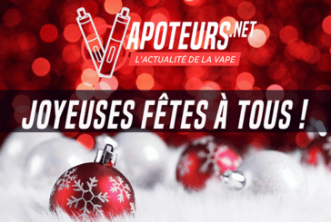 CHRISTMAS: Writing Vapoteurs.net wishes you happy holidays!
