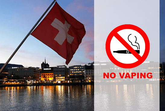 SVIZZERA: La sigaretta elettronica soggetta alle stesse restrizioni del tabacco!