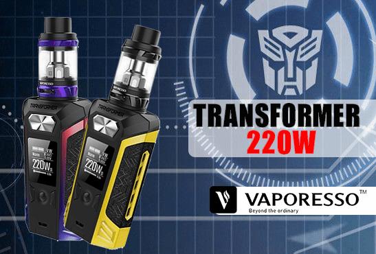 INFO BATCH : Transformer 220W (Vaporesso)