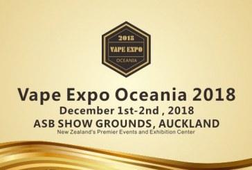 Vape Expo אוקיאניה 2018 (ניו זילנד)