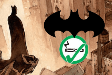 CULTURE : Un Batman ou le commissaire Gordon utilise une e-cigarette !