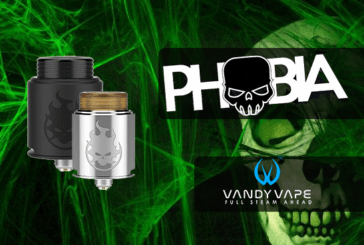 INFO BATCH : Phobia RDA (Vandy Vape)