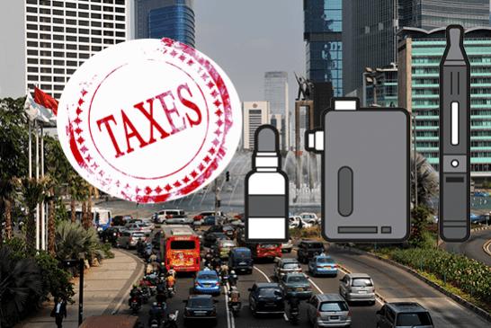 INDONESIE : Une augmentation de 57% des taxes sur la cigarette électronique.