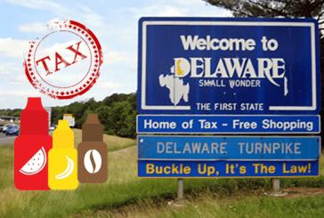 USA: Seit dem Januar 1er wird die E-Zigarette in Delaware besteuert.