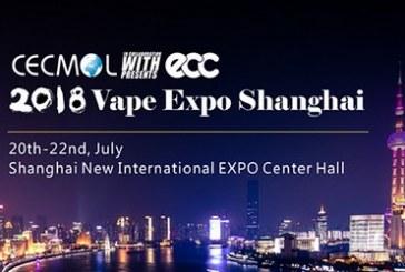 Vape Expo Shanghai 2018 (Chine)