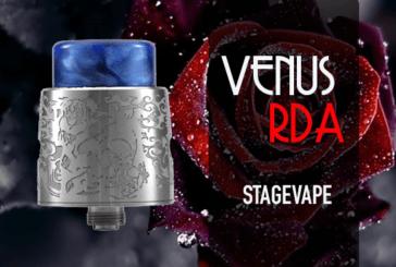 INFO BATCH : Venus RDA (Stagevape)