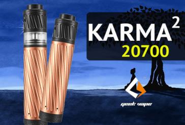 ΠΛΗΡΟΦΟΡΙΕΣ ΠΑΡΤΙΔΑΣ: Karma 2 20700 (Geekvape)