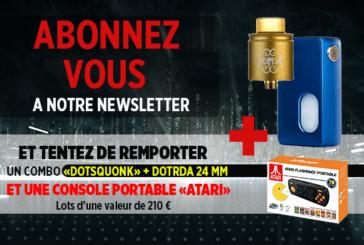 ניוזלטר: הירשם ולנסות לזכות Dotmod BF Kit ו Atari נייד!