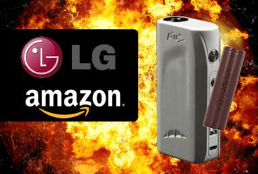 ÉTATS-UNIS : Après l'explosion d'une e-cigarette, il attaque Amazon et LG Electronics en justice.