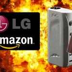 ארצות הברית: לאחר פיצוץ של סיגריה אלקטרונית, היא תוקפת את אמזון ו- LG Electronics בבית המשפט.