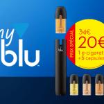 NEW: Откройте комплект электронной сигареты myblu со специальным вступительным предложением!