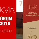 REINO UNIDO: ¡Un gran comienzo para el foro UKVIA 2018!