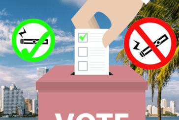 ETATS-UNIS : Un vote de la population de Floride pour interdire l'e-cigarette dans les lieux publics.