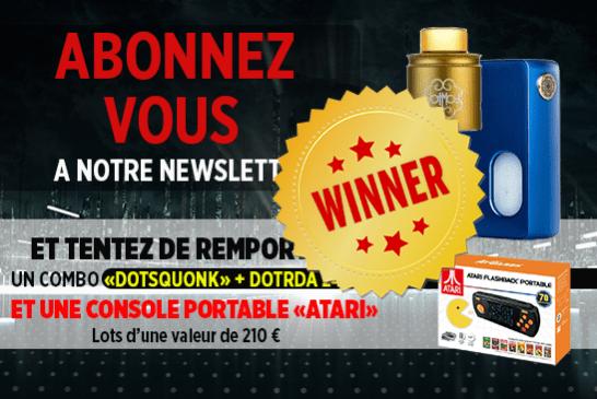 NEWSLETTER: Вот победитель комплекта Dotmod BF и портативный компьютер Atari!