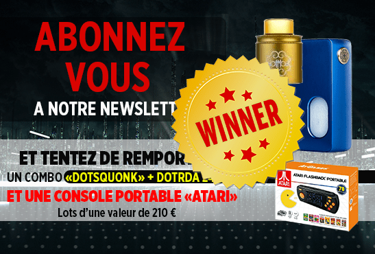 NEWSLETTER: Here is the winner of the Dotmod BF kit and the Atari portable!