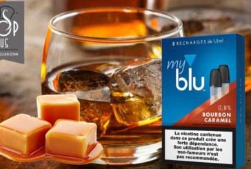 REVUE / TEST : Bourbon Caramel (gamme myblu) par blu